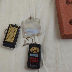 VTG Star Trek Sound Effects Communicator Keychains